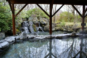 Epinard Nasu's outdoor onsen is one of the largest in the region