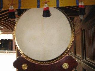 Big drum at the shrine