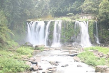 Kirihara Waterfalls in Kagoshima