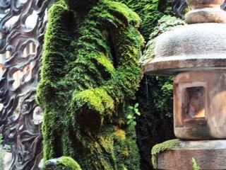 La statue de Fudô