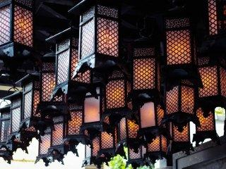 Les lanternes du temple