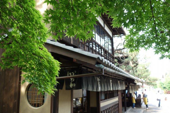 Aburi-mochi at Ichiwa & Kazariya