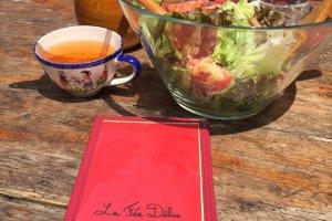La salade et le cidre