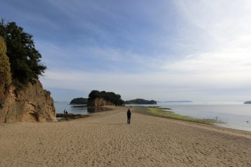 Walk the Angel Road of Shodoshima
