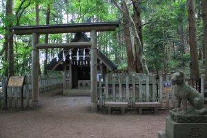 Le temple à proximité du sommet
