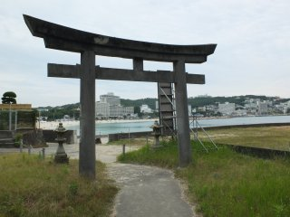 Shrine on the beach