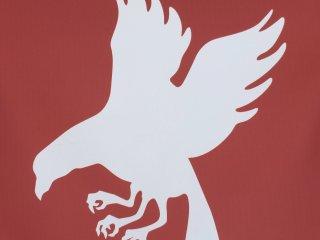 The area is famous for this mythical three-legged crow, Yatagarasu