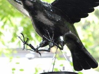 Common in Kumano, it's a symbol of rebirth and wisdom