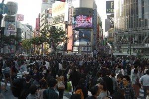 The crossroads of Tokyo