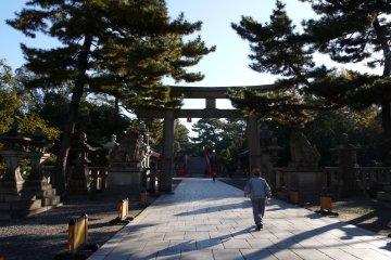 Sumiyoshi Taisha ศาลเจ้าเก่าแก่ ในความทรงจำ