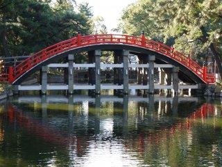 ถ่ายสะพานจากอีกด้าน