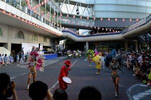 Brazilian dancing