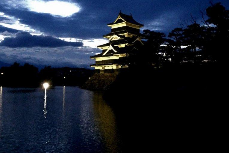 Les Environs du Château de Matsumoto