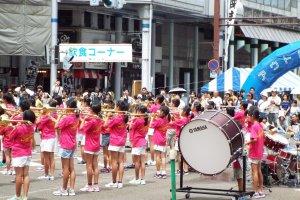 School Band performance