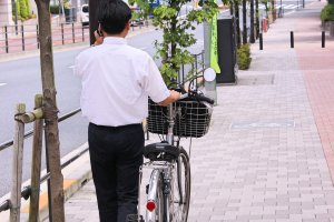 Cycling is very popular in Japan