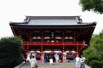 武士の都鎌倉の中心、鶴岡八幡宮