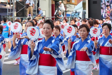 Festival Fukushima Waraji