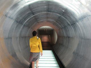 Passages at Suntory looked like a spaceship!