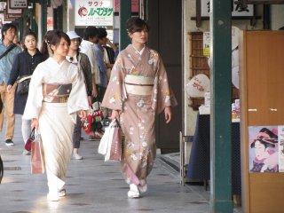Kyoto is the best city to wear kimono!