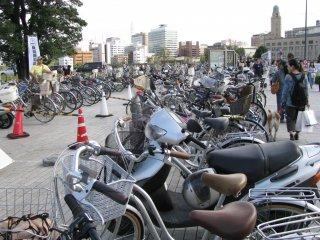 Bikes in Yokohama