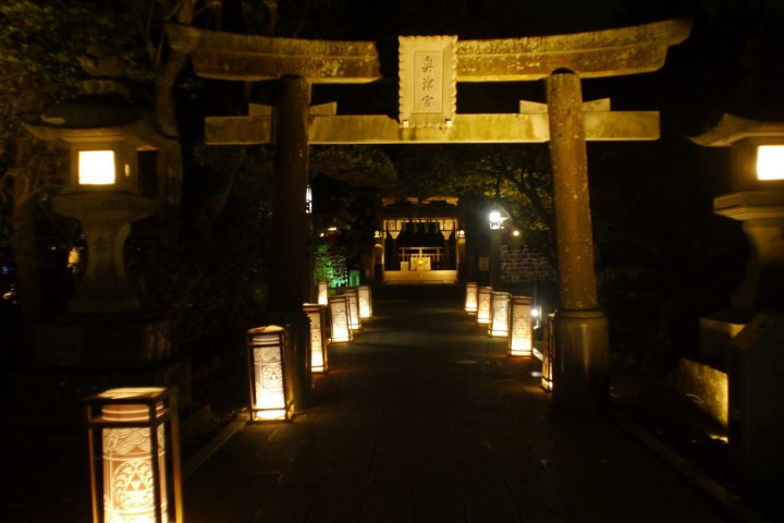 Enoshima by Night
