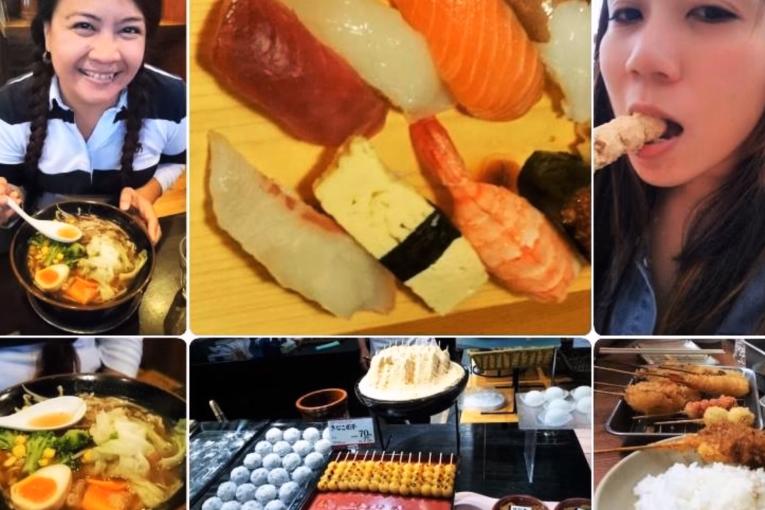 Du ngoạn ẩm thực Nhật Bản