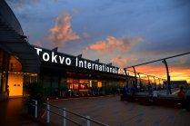 Haneda Airport at Twilight
