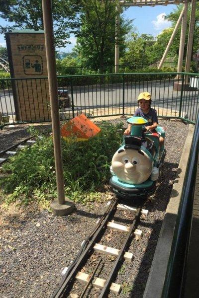 Mini train ride