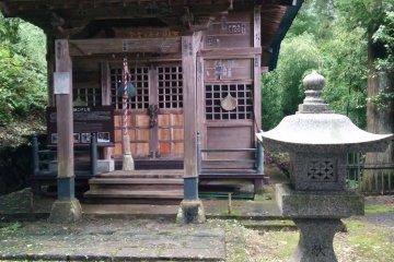 Visiting the Kokeshi Temple