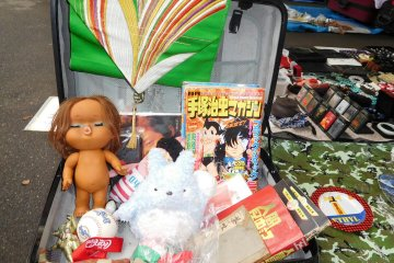 Pasar Barang Bekas Ohi di Tokyo