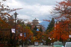 Tsuruga-Jo from the north