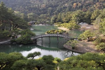Ritsurin-koen Garden, Takamatsu