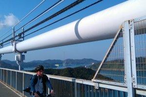 Enjoying the bridge