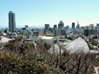 View over Kobe