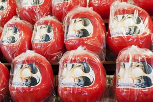 daruma dolls are famous for making every wish come true: