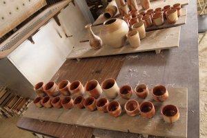 Bizen-yaki at the Bizen Pottery School