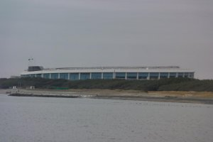 A stadium by the sea