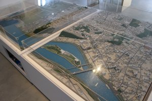 City models show the design of the area
