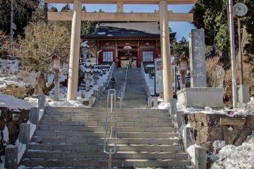 Okutama's Mitake Shrine
