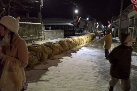 The Giant Tug of War of Daisen