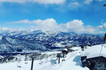 Blue Skies at Hakuba Happo-One