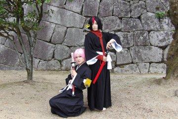 Cosplay at Matsuyama Castle