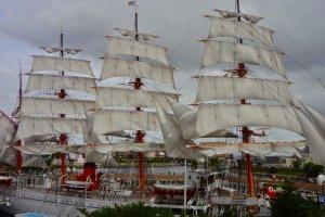 Nippon-maru sailing ship