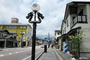 The main street of Nikko