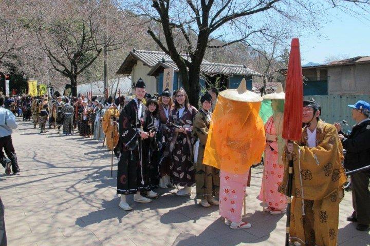 Kanra samurai festival