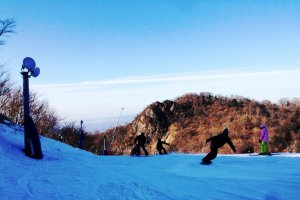 Check out the natural snow at Gokase Resort