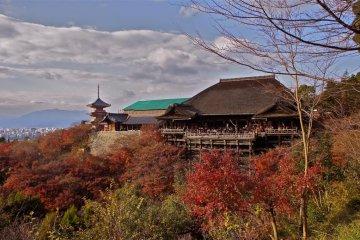 Kiyomizu-dera in Autumn