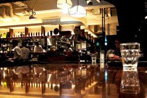 iyemon salon bar in action after dark