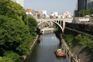 Tea for the shogun? Ochanomizu translates as 'tea water', a reference to the nearby Kanda River.
