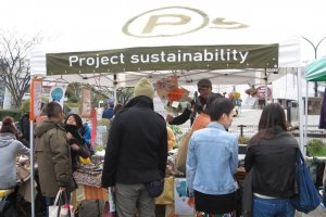 Something we should be doing more of, living sustainably